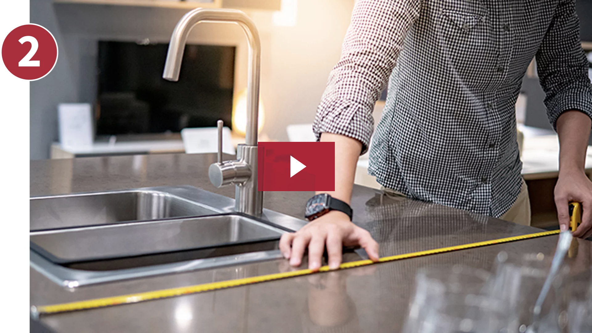 how to measure your countertop